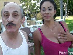 viejos latinos follando con jovencitas