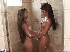 follando ducha