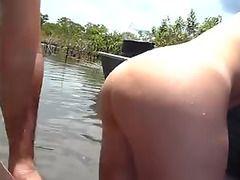 follando con mi mujer en el rio