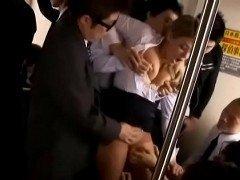 forzadas en el bus