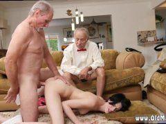 sexo anal con viejos
